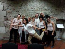 Foto Integratives Tanztheater mit einem Chor