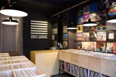 Vinyl Garage Showroom